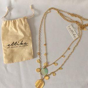 Ettika Double Necklace Set